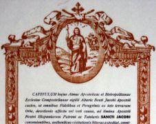Pilgerurkunde - La Compostela